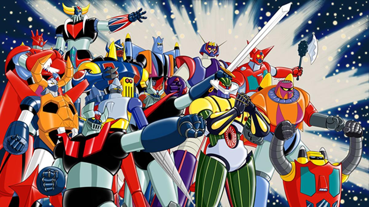 go-nagai-super robots classics